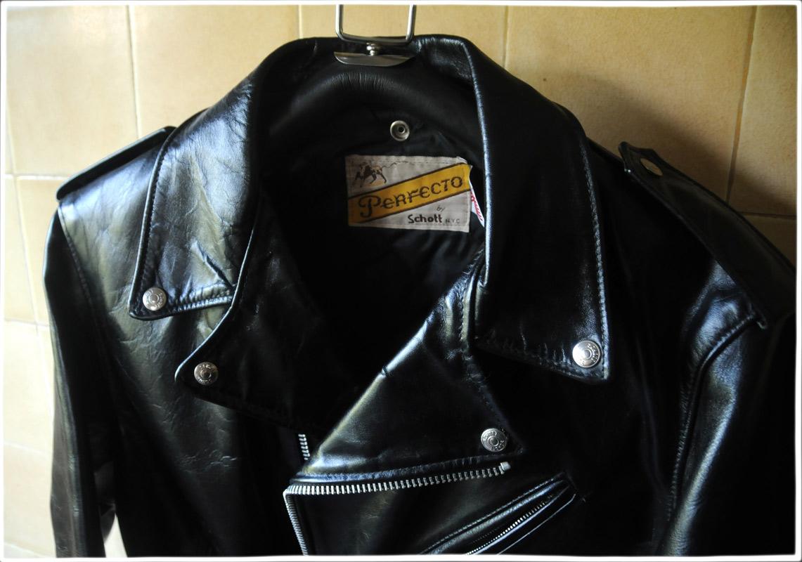 Schott Perfecto Classic Leather Biker S Jacket Alan Wilder