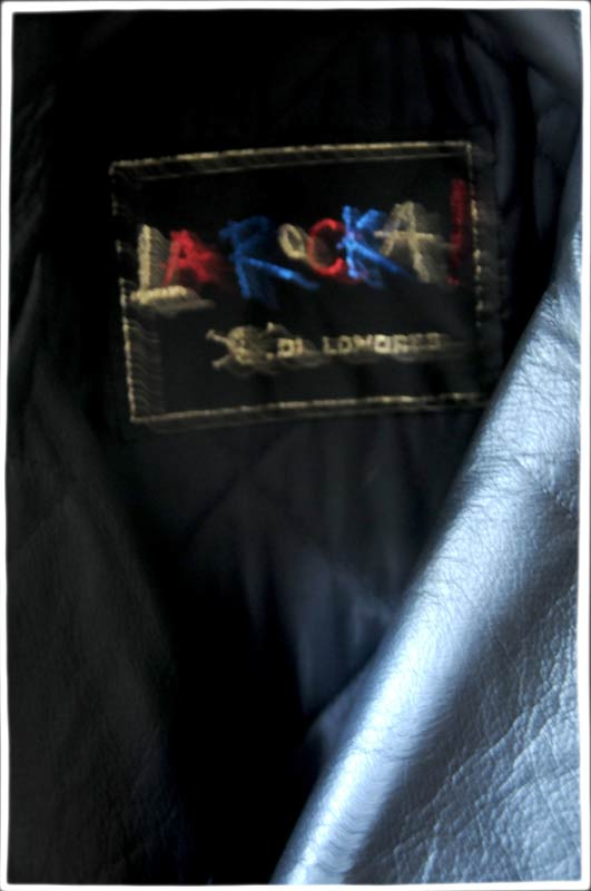 La Rocka Black Leather Trench Coat 187 The Alan Wilder