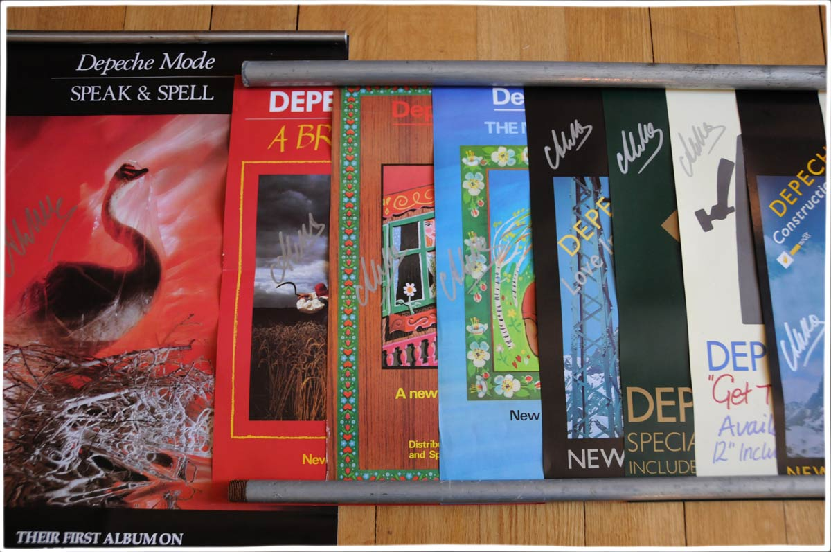 Dm Poster Collections 187 The Alan Wilder Depeche Mode