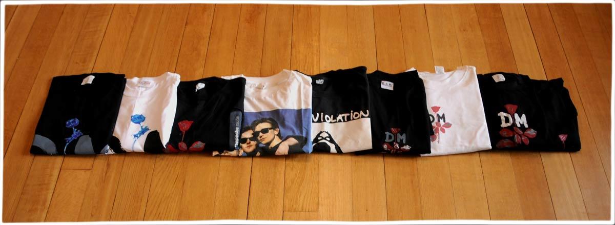 World Violation Tour Shirts Collection 187 The Alan